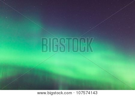 Northern lights sky background