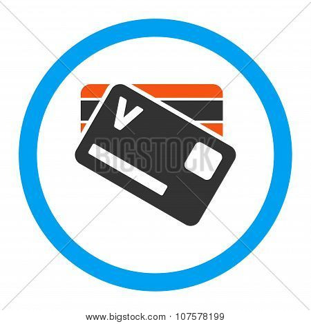 Banking Cards Rounded Vector Icon