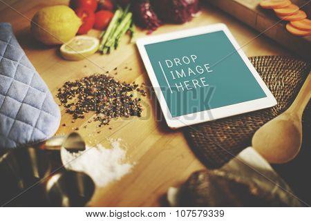 Food Preparation Utensil Healthy Food Concept