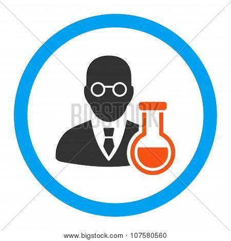 Chemist Rounded Vector Icon