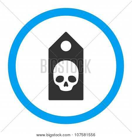 Death Coupon Rounded Vector Icon