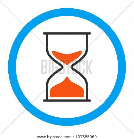 Hourglass Rounded Vector Icon
