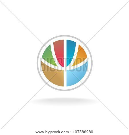 Globe Flower Logo