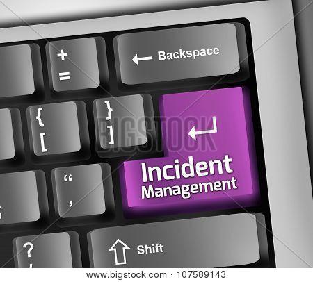 Keyboard Illustration Incident Management