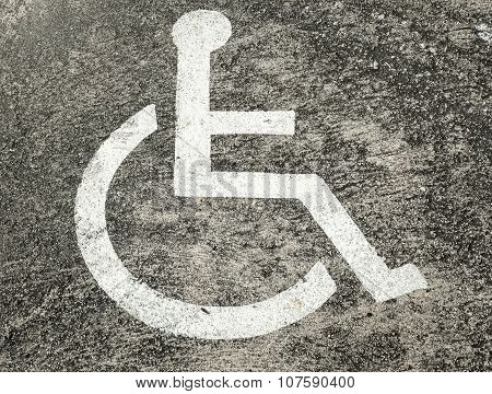 The Disabled Car