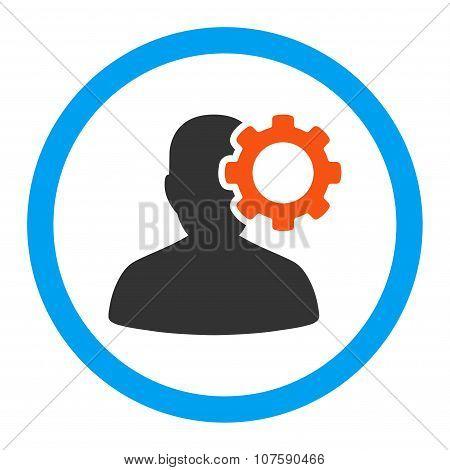 Migraine Rounded Vector Icon