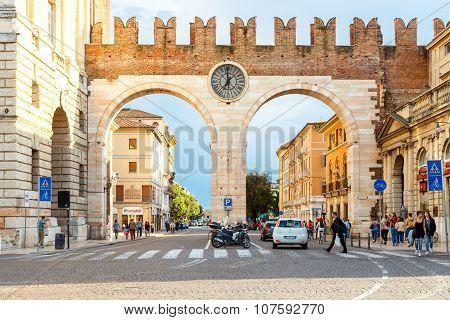 Verona. City gate.