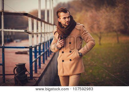 Portrait Of A Fashion Model
