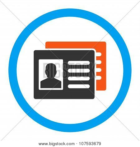 Patient Accounts Rounded Vector Icon