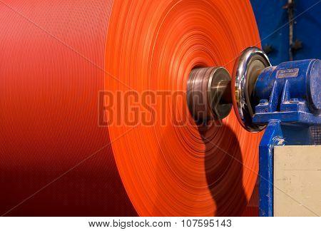 Fiberglass roll