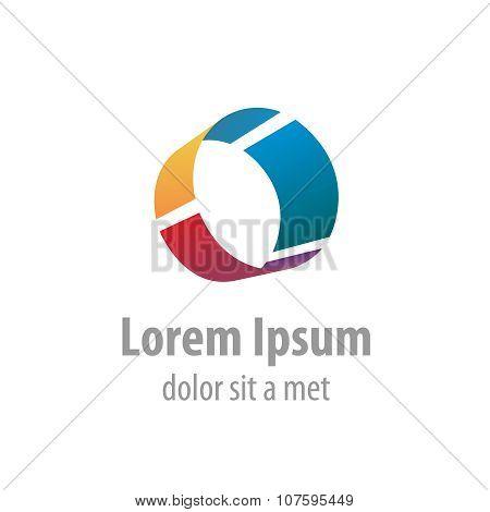 Letter O Industrial Logo