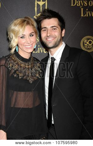 LOS ANGELES - NOV 7:  Alyssa Tabit, Freddie Smith at the Days of Our Lives 50th Anniversary Party at the Hollywood Palladium on November 7, 2015 in Los Angeles, CA