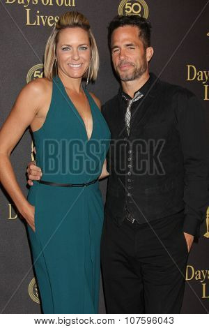 LOS ANGELES - NOV 7:  Arianne Zucker, Shawn Christian at the Days of Our Lives 50th Anniversary Party at the Hollywood Palladium on November 7, 2015 in Los Angeles, CA