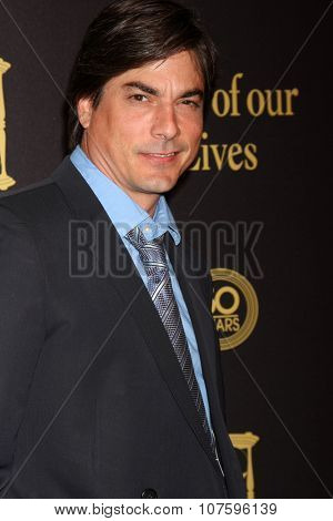 LOS ANGELES - NOV 7:  Bryan Dattilo at the Days of Our Lives 50th Anniversary Party at the Hollywood Palladium on November 7, 2015 in Los Angeles, CA