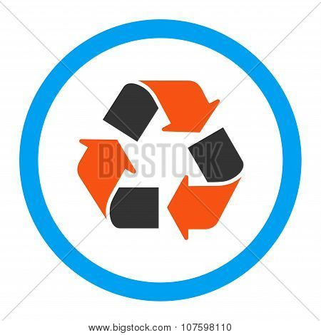 Recycle Rounded Vector Icon