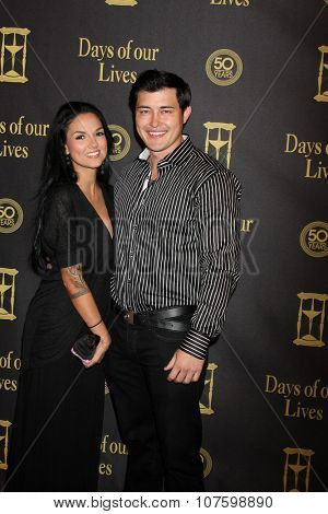 LOS ANGELES - NOV 7:  Christopher Sean at the Days of Our Lives 50th Anniversary Party at the Hollywood Palladium on November 7, 2015 in Los Angeles, CA