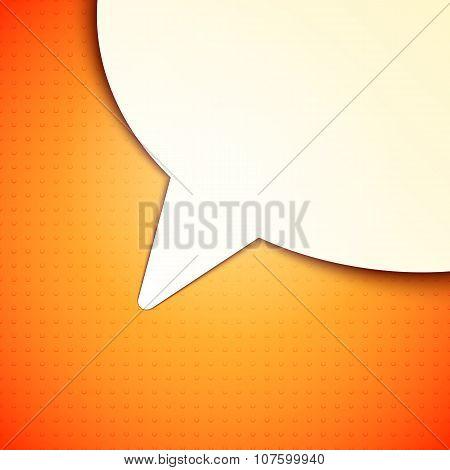 Talk Bubble Background