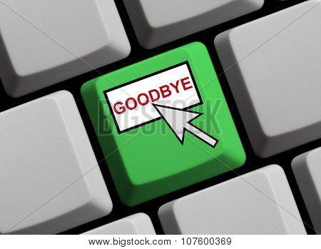 Goodbye Online
