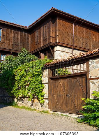 Old Traditional House In Sozopol, Bulgaria