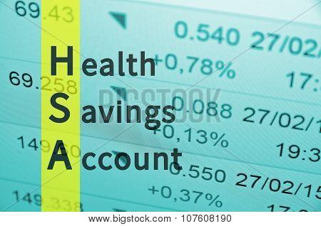 Health savings account