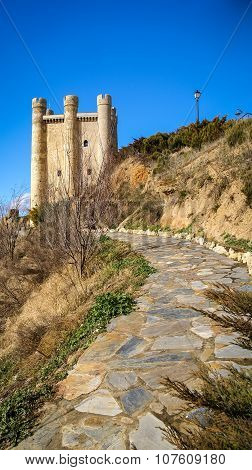 Castle At Valencia De Don Juan, Castilla Y Leon, Spain