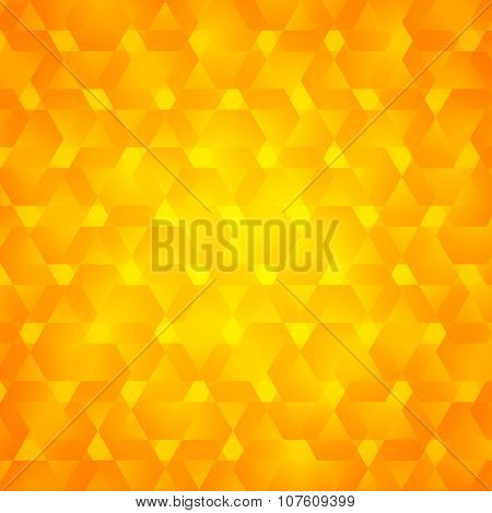 Abstract-orange-background-label-packing-template
