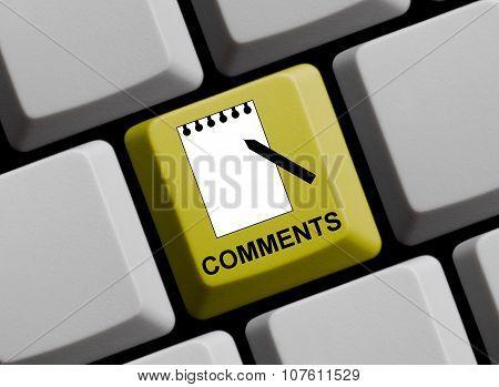 Comments Online