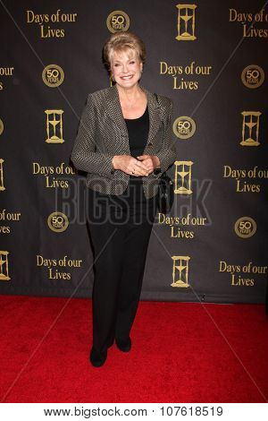 LOS ANGELES - NOV 7:  Gloria Loring at the Days of Our Lives 50th Anniversary Party at the Hollywood Palladium on November 7, 2015 in Los Angeles, CA