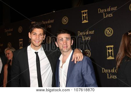 LOS ANGELES - NOV 7:  Casey Deidrick, Billy Flynn at the Days of Our Lives 50th Anniversary Party at the Hollywood Palladium on November 7, 2015 in Los Angeles, CA