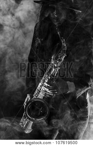 Sax Lady