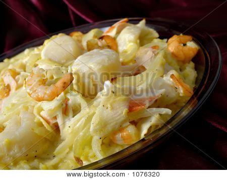Rice Seafood Dish