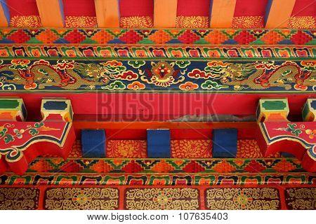 Tibetan Architecture Details 2