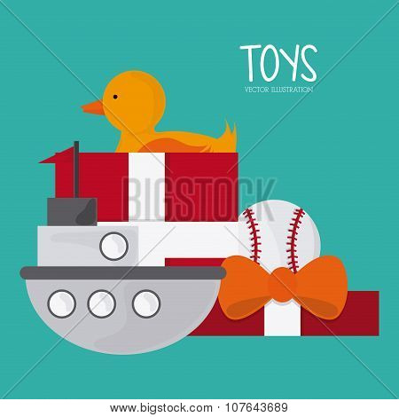 Childhood and Toys design