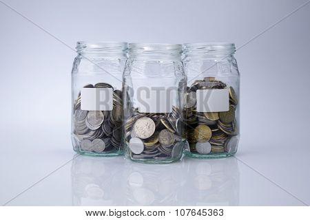 saving jar- concept saving for future