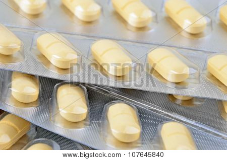 Pills in blister package