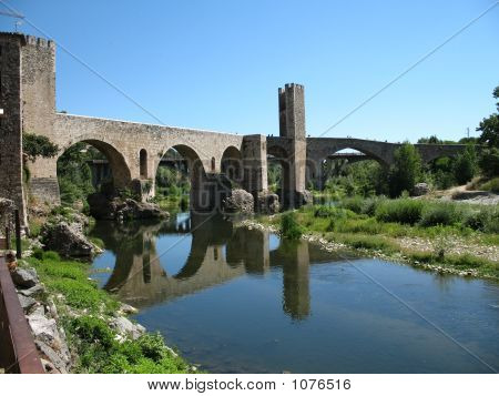 Bridge Besalu Spain