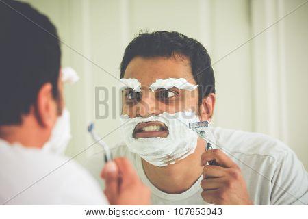 Crazy Shaving