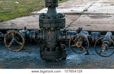 Newly Installed Wellhead
