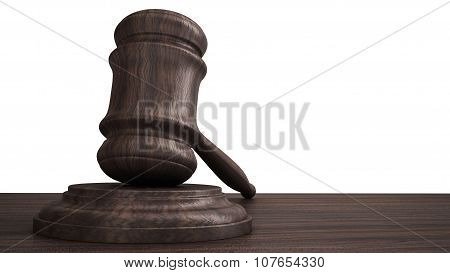 gavel for courtroom or auction