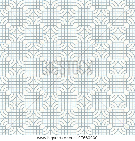 Retro Pattern With Lines And Stars
