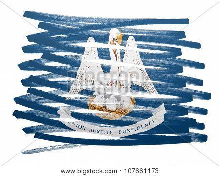 Flag Illustration - Louisiana