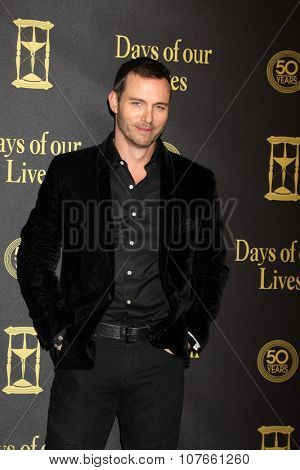 LOS ANGELES - NOV 7:  Eric Martsolf at the Days of Our Lives 50th Anniversary Party at the Hollywood Palladium on November 7, 2015 in Los Angeles, CA