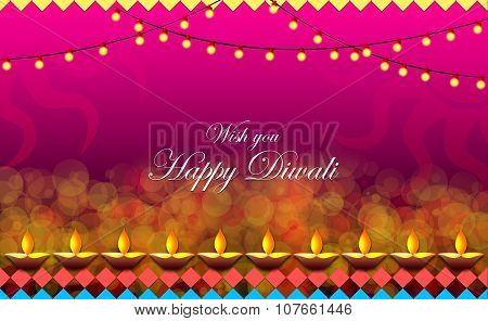 Diwali Background illustration
