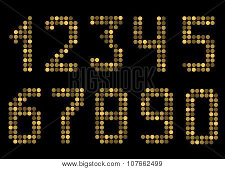 Golden number set