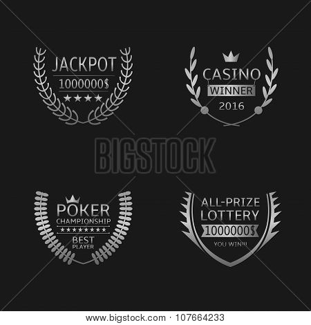 Gambling game labels