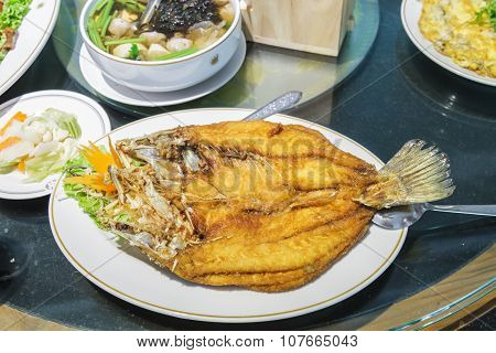 Snapper Fish Fried
