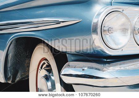 Vintage Car Side