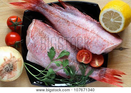 Raw Fish For Cooking