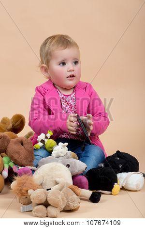 One Year Baby Portrait