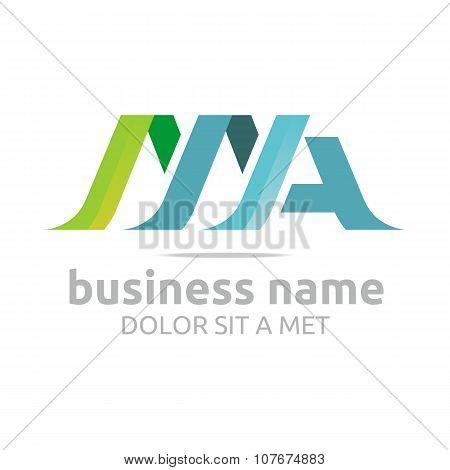 Logo Lettering MA
